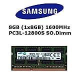 Samsung 8GB (1x 8GB) DDR3 1600MHz (PC3L 12800S) SO Dimm Low Voltage Notebook Laptop Arbeitsspeicher...
