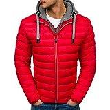 Unbekannt Herren Jacke Parka Herbst Winter Warm Outwear Slim Mäntel Casual Windbreakjacke Herren -...
