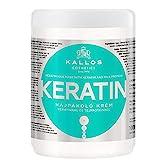 Kallos KJMN Creme mit Keratin & Milchproteine für trockenes, brüchiges und chemisch behandeltes...