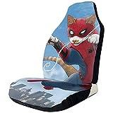 Xiaoyinghua Autositzbezüge Spider-Cat Funny Cats Protector Cushion Universeller Schalensitzbezug