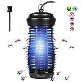 DEKINMAX Elektrischer Insektenvernichter, 6W UV Insektenvernichter Mckenlampe Schutz vor...