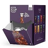 MEGA BOX - 100 BIO-Kaffeekapseln von My-CoffeeCup | Kompatibel mit Nespresso*-Maschinen | 100 %...