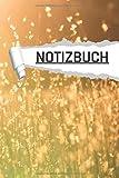 Notizbuch: Motiv Sommer Natur liniert I DIN-A5 I 120 Seiten in Cremefarben I Journal