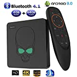 LOISK Android 9.0 TV-Box GT-King / 4G + 64G / Smart Voice TV-Box mit S922X Quad-Core ARM Cortex-A73...
