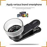 SEXTT Telefon-Objektiv, Profi-HD 10x 25 mm Super-Makro-Telefon-Kamera-Objektiv keiner Deformation...