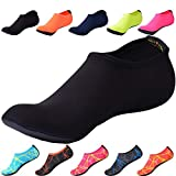 JACKSHIBO Herren Damen Barfu Wasser Schuhe Unisex Aqua Shoes fr Strand Schwimmen Surf Yoga Jungen...