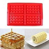 Mengjie DIY Herzform waffelform silikon ofenform backen Cookie Kuchen Muffin Kochen Werkzeuge küche...