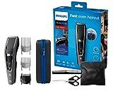Philips HC7650/15 Haarschneider Series 7000 mit 28 Längeneinstellungen, 3 Kammaufsätzen und...