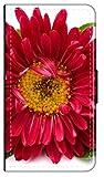 Sunnycase Flip Case Sommer Blumen kompatibel für iPhone 6 6s Blume rot Handy Hülle Leder Tasche...