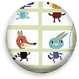 ETGeed Montieren Sie Mini-Spiele Sammlungen Waldtiere Wildlife Game Education Reserverad...