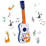 Shayson 4 Strings Music Kindergitarre,Gitarre für Kinder Baby ab 3 Jahren für Anfänger geeignet