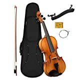 CASCHA 4/4 Violine mit Hardcase I Geigen Set fr Jugendliche und Erwachsene I Hochwertige Geige mit...