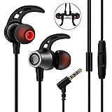 In Ear Kopfhörer, Nasharia In Ear Ohrhörer mit Mikrofon Stereo Earphones Wired Ohrhörer Noise...