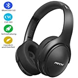 Mpow Noise Cancelling Kopfhörer, Bluetooth 5.0 Kopfhörer Over Ear mit 30 Std, Kopfhörer Kabellos...