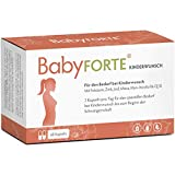 BabyFORTE Kinderwunsch Vitamine – Vegan + Maca, Myo Inositol, Q10 + 800 mcg Folsäure, Vitamin D,...