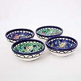 Handgefertigte Keramik-Dipschüsseln, spülmaschinenfest, mikrowellengeeignet, antike traditionelle...