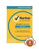 Norton Security Deluxe 2019   3 Gerte   1 Jahr   PC/Mac/iOS/Android   Download, Aktivierungscode per...