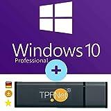 MS Windows 10 Pro 32 bit & 64 bit - Original Lizenzschlüssel mit bootfähigen USB Stick von -...