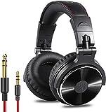 OneOdio DJ Kopfhrer, Studiokopfhrer, Over-Ear Headset, Adapter-frei Geschlossener Headphone 6,3mm &...