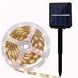 LED Bodenleuchte Solar-Spike Lichterkette, UV-Epoxid-Wasserdicht, 8 Blink-Modus, Doppeltaster,...