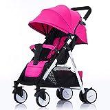 Kinderwagen Kompakt und leicht Kinderwagen Pram Buggy Adjustable Leichte Faltbare bewegliche Reisen...