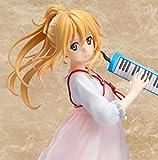 NYJNN Anime Statue ese Anime Ihre Lüge im April Kaori Miyazono Melodica Rosa Kleid ver PVC Action...