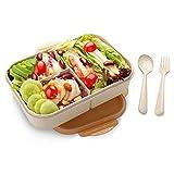 SIPU Lunchbox mit Unterteilungen Brotdose Kinder Bento Box auslaufsicher fr Schule Arbeit Picknick...