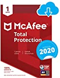 McAfee Total Protection 2020   1 Gert   1 Jahr   PC/Mac/Smartphone/Tablet   Download Code