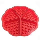 TUANTALL Backblech-Set Backformen Backformen für Kuchen Waffelform Ofen Backformen für Kuchen...