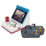 Fesjoy Retro Miniatur Arcade-Spielkonsole Tragbare Handspielmaschine 3'Bildschirm Dual Wired...