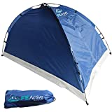 FE Active – Zelt für 1 bis 2 Personen mit Fliegengitter am Eingang, schnell und einfach...