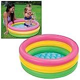 Intex Sunset Glow Baby Pool - Kinder Aufstellpool - Planschbecken -  86 x 25 cm - Fr 1-3 Jahre