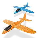 LVHERO 2 stücke 13,5 Zoll Segelflugzeug, manuelles werfen, spaß, Outdoor-Sportarten Spielzeug,...