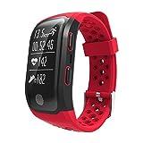 Frauen Mann GPS Smart Watch Outdoor Sport Armband Mehrere Sportarten Ip68 Wasserdicht Smart Armband...