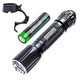 Starkes Licht Taschenlampe, Hauptbeleuchtung, Blendung taktische Taschenlampe im Freien führte...