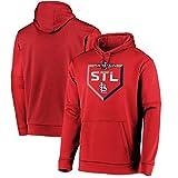 LELEHoodies Herren Kapuzenpullover für Saint Louis Cardinals Herbst Winter Langarm Pullover...