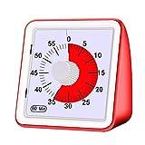 General 60-Mintige Visuelle Analoge Timer-Countdown-Uhr Kein Lautes Ticking-Zeitmanagement-Tool Fr...