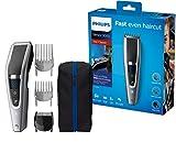 Philips HC5630/15 Haarschneider Series 5000 mit 28 Längeneinstellungen, 3 Kammaufsätzen und Turbo...