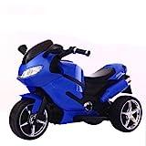 LIIYANN Kinder elektrische Motorrad Kid Dreirad Lade Flasche Auto Junge spielzeugauto sitzen...