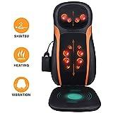 Massagesitzauflage Shiatsu Massageauflage Massagematte mit Wärmefunktion - Elektrisch...