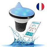 Ofi Zen Pool Analyzer mit Smartphone-Alarm verbunden - Überwacht die Qualität Ihres Wassers rund...