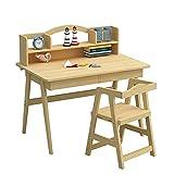 Caishuirong Kinderschreibtisch Holzkindertisch Schlafzimmer Studenten Schreibtisch Großes Geschenk...