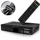 HD LINE HDMI Receiver für Sat - Digitaler Satelliten HD Receiver (HDTV, DVB-S /DVB-S2, HDMI, AV, 2X...
