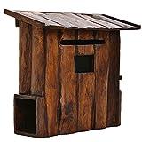 Briefkasten Mailbox Hölzerne Mailbox Vertikale Wandmontage Dekoration Freien Moderne Haus Retro...