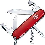 Victorinox Taschenmesser Spartan (12 Funktionen, Korkenzieher, Dosenffner) rot