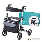 HELAVO faltbarer premium Rollator - Leichtgewicht aus Aluminium - maximale Mobilität in Wohnung und...