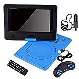 Pokerty DVD-Player, tragbarer 9,8-Zoll-HD-Movie-Player, 270 ° schwenkbarer Auto-DVD-Player,...