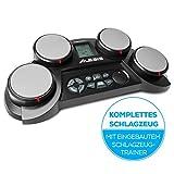 Alesis CompactKit 4 - E Schlagzeug Elektronisch mit Drumsticks, 4 anschlagdynamischen Drum Pads und...