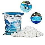 Aitsite 700g 8 Liter Filter Balls Pool Filterkessel Sandfilter 25 kg Filtersand Quarzsand...