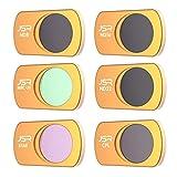 (6 in 1) geeignet für DJI Mavic Mini-Drohnenfilter Zubehör, UV-polarisierte ND-Reduzierlinse